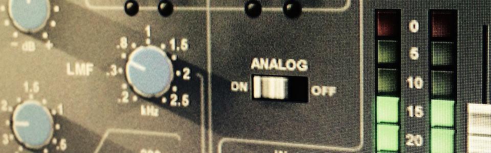 Audio Postproduktion