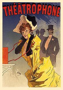 Le Théâtrophone, an 1896