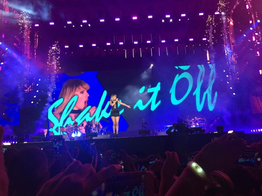 Taylor Swift 10/22 Austin, TX. Photo by: Mallory Simon