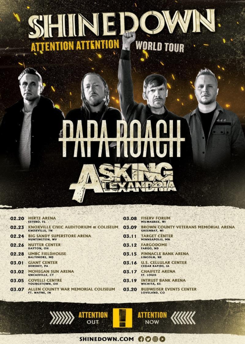 Shinedown-world-tour