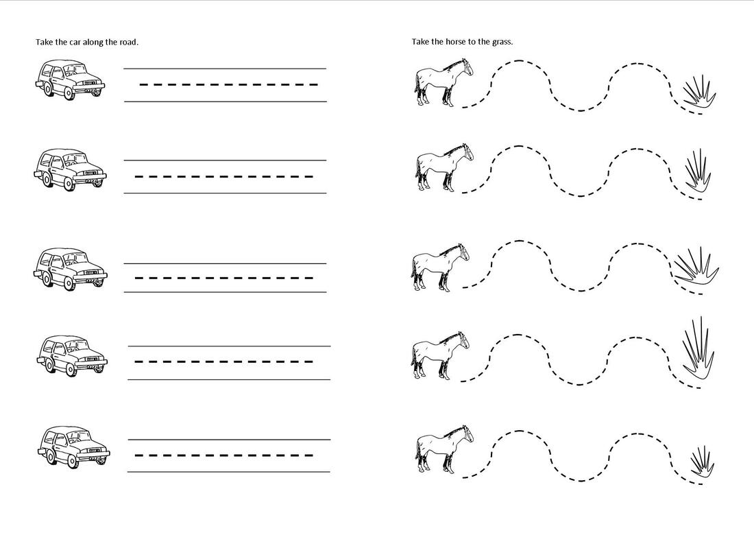 My First Handwriting Patterns