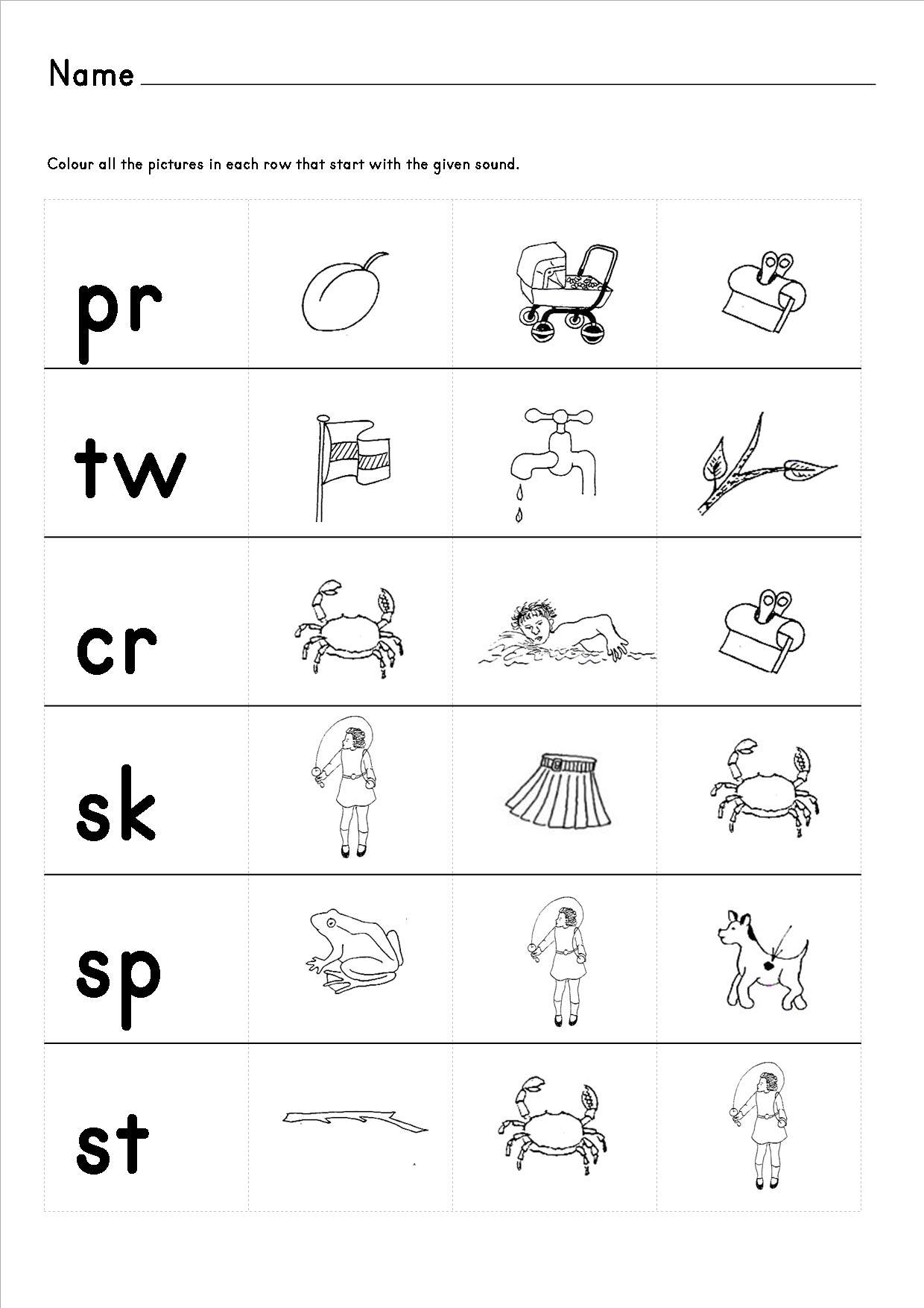 Cvcc Words Worksheets