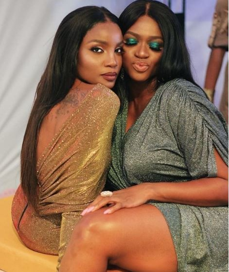 Caption this beautiful new photo of Seyi Shay and Waje