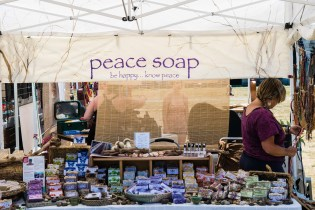 Peace Soap Vendor by Jon Simmons