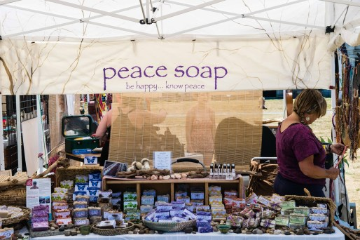 Peace Soap Vendor by Jon Simmons