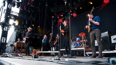 Nathaniel Rateliff and the Night Sweats by Tim Briggs