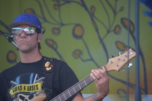 Bassist Ryan Stasik of jam-band Umphrey's McGee