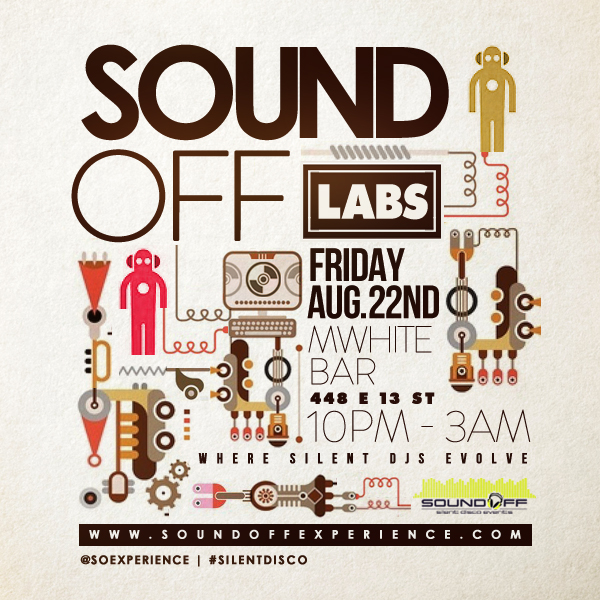 Sound Off Labs - M White Bar - August 22