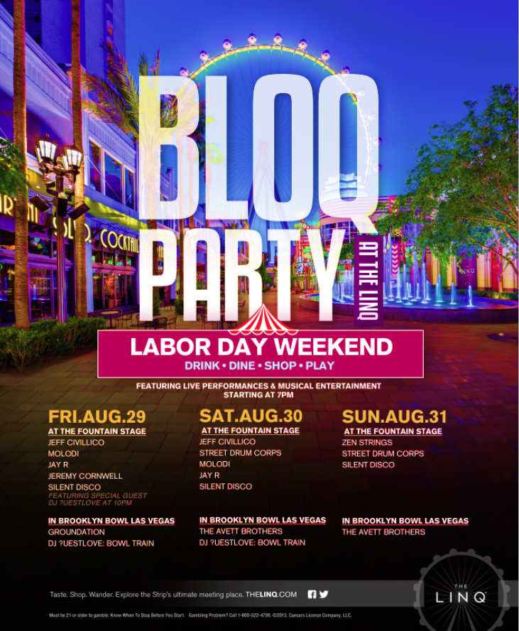 Labor Day at the Linq