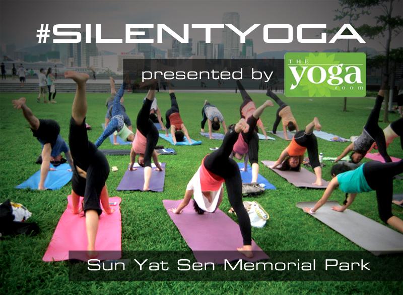 #SilentYoga Presented by The Yoga Room