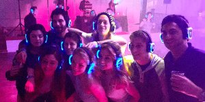 Silent Disco @ The Fieldhouse at Old School Square
