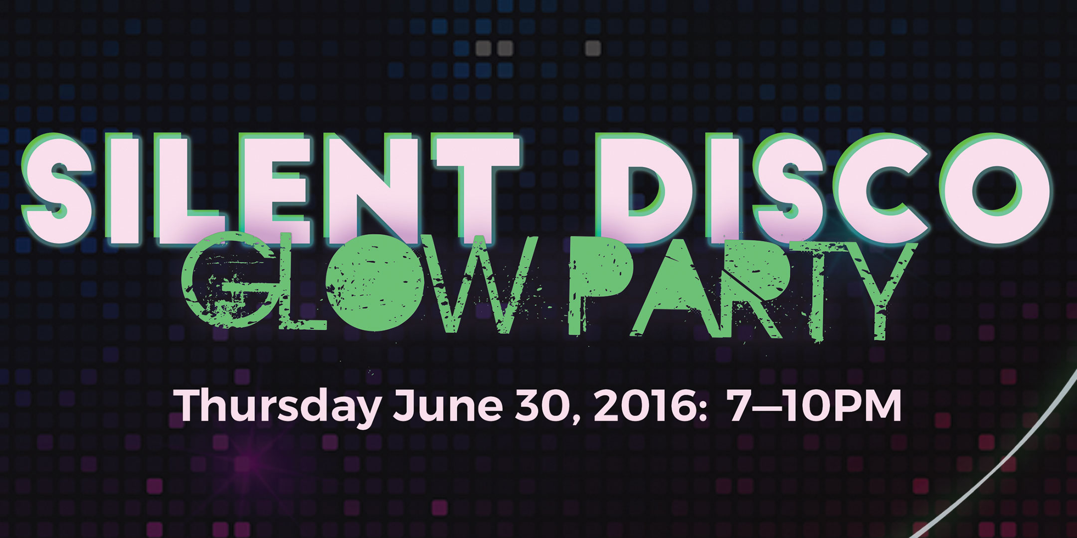 Silent Disco Glow Party @ Sherman Oaks Galleria