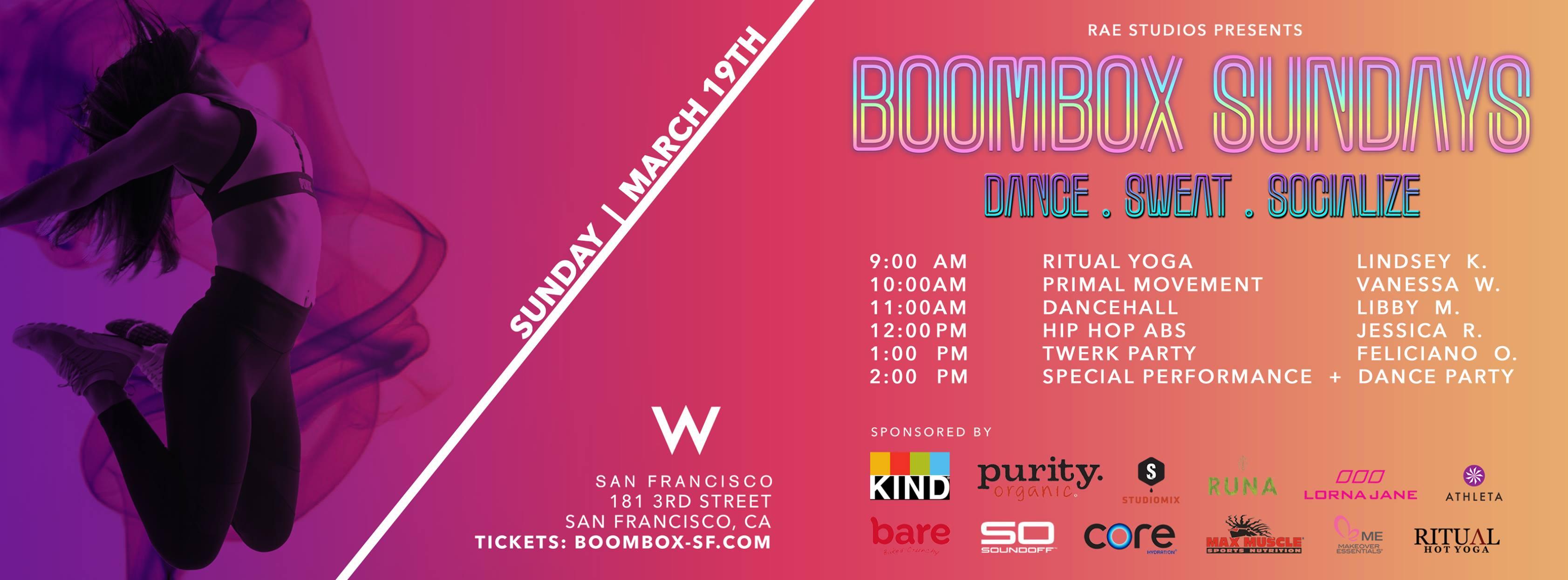 Boombox SF