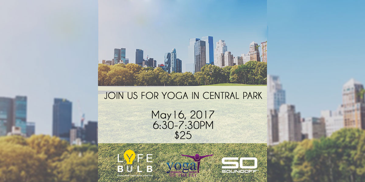 Yoga in Central Park