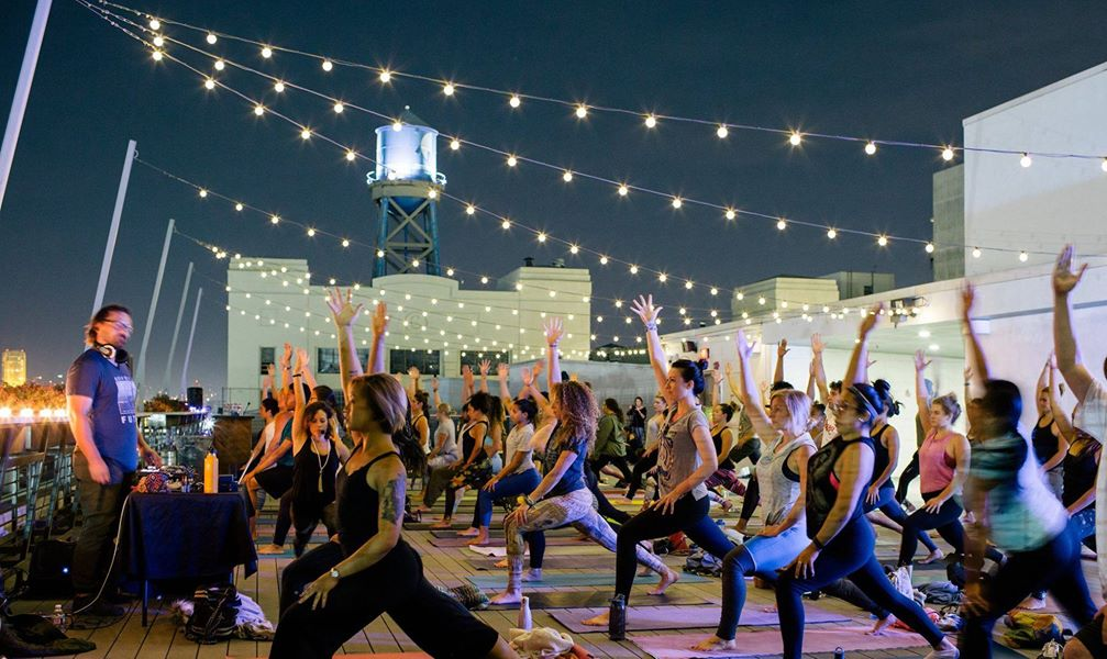 Rooftop Amplified Yoga