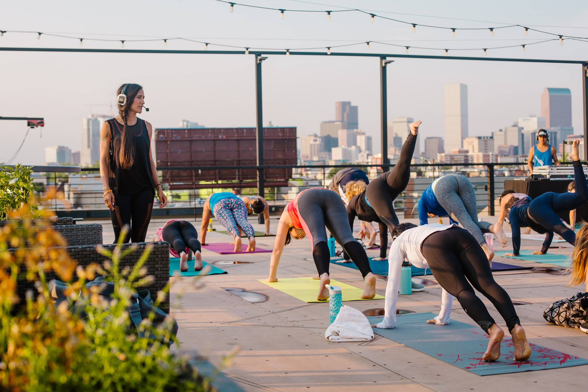 Sunset Rooftop Yoga Flow