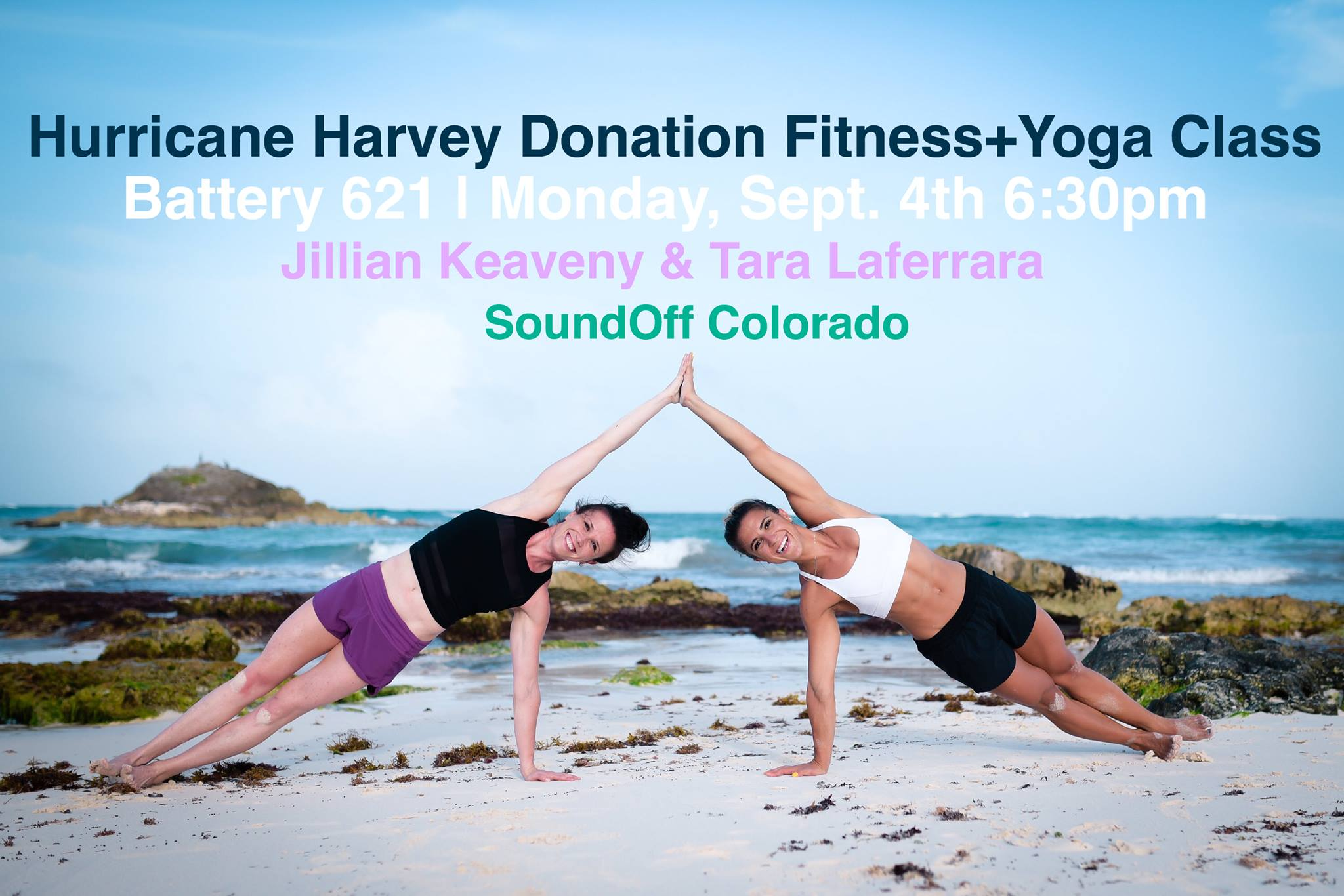 Hurricane Harvey Donation Yoga