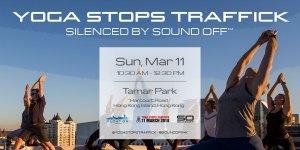Yoga Stops Traffick Flyer