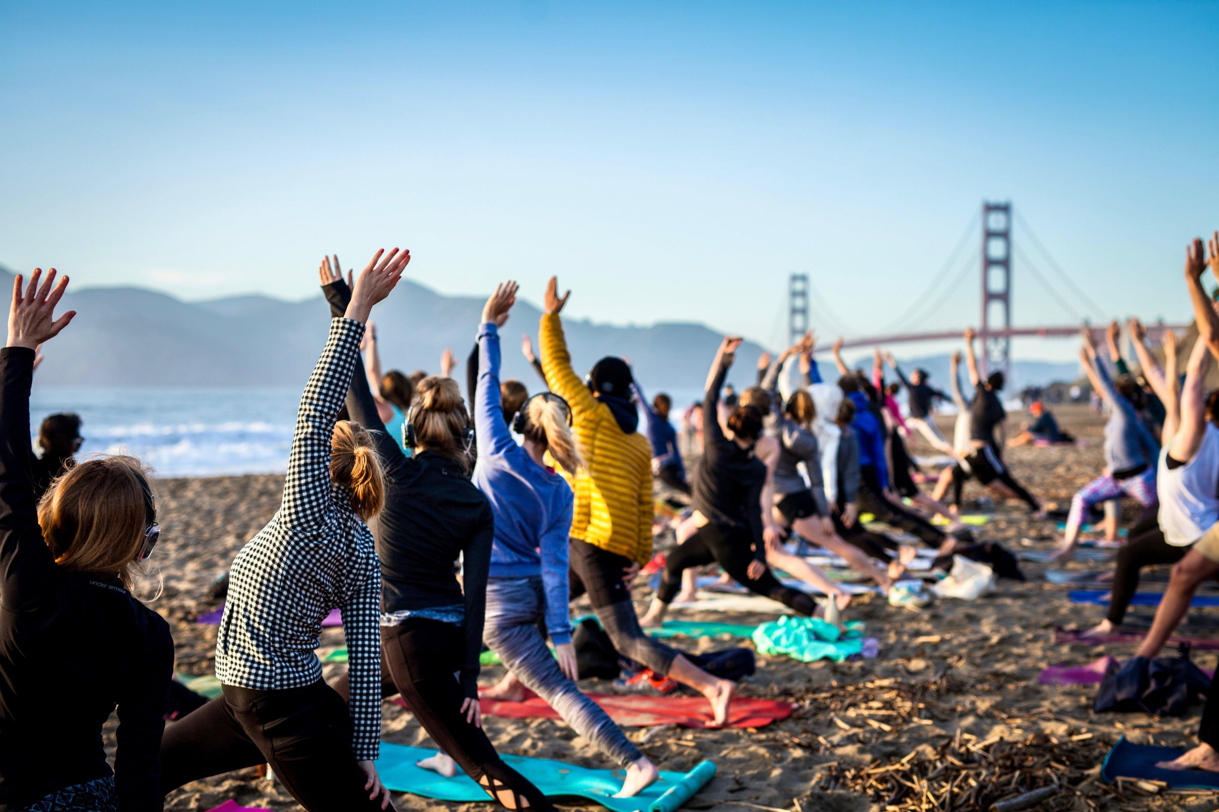 Sunset Yoga with Nicole Cronin + Room to Read Benefit Class