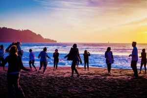 Wednesday FULL MOON Sunset Yoga with Kirin Power!
