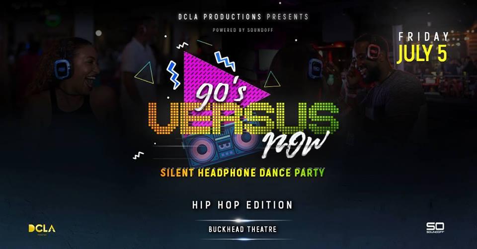 Silent Dance Party: 90's VERSUS Now