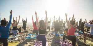 FOURTH OF JULY Beach Yoga with Julianne Aiello!