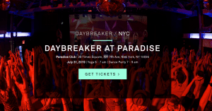 DAYBREAKER AT PARADISE