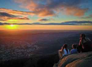 MindTravel SilentHike in San Diego on Cowles Mountain