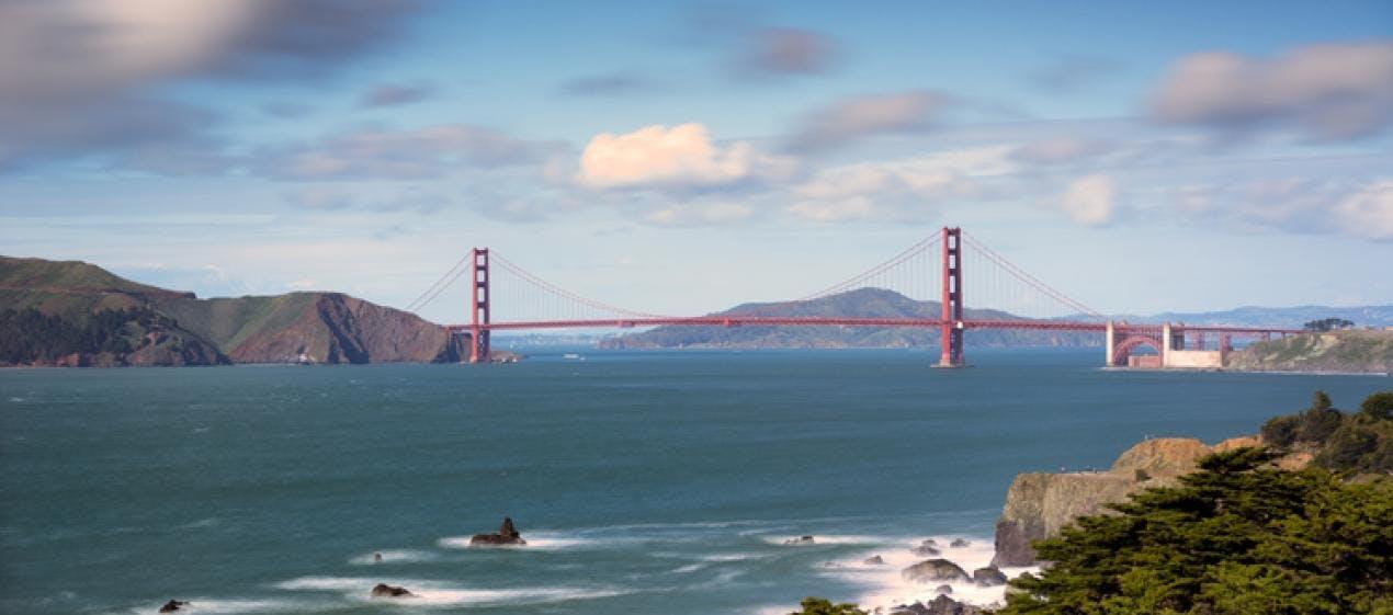 MindTravel SilentHike in San Francisco on Lands End Trail