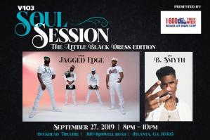V-103 PRESENTS... A Soul Session featuring Jagged Edge