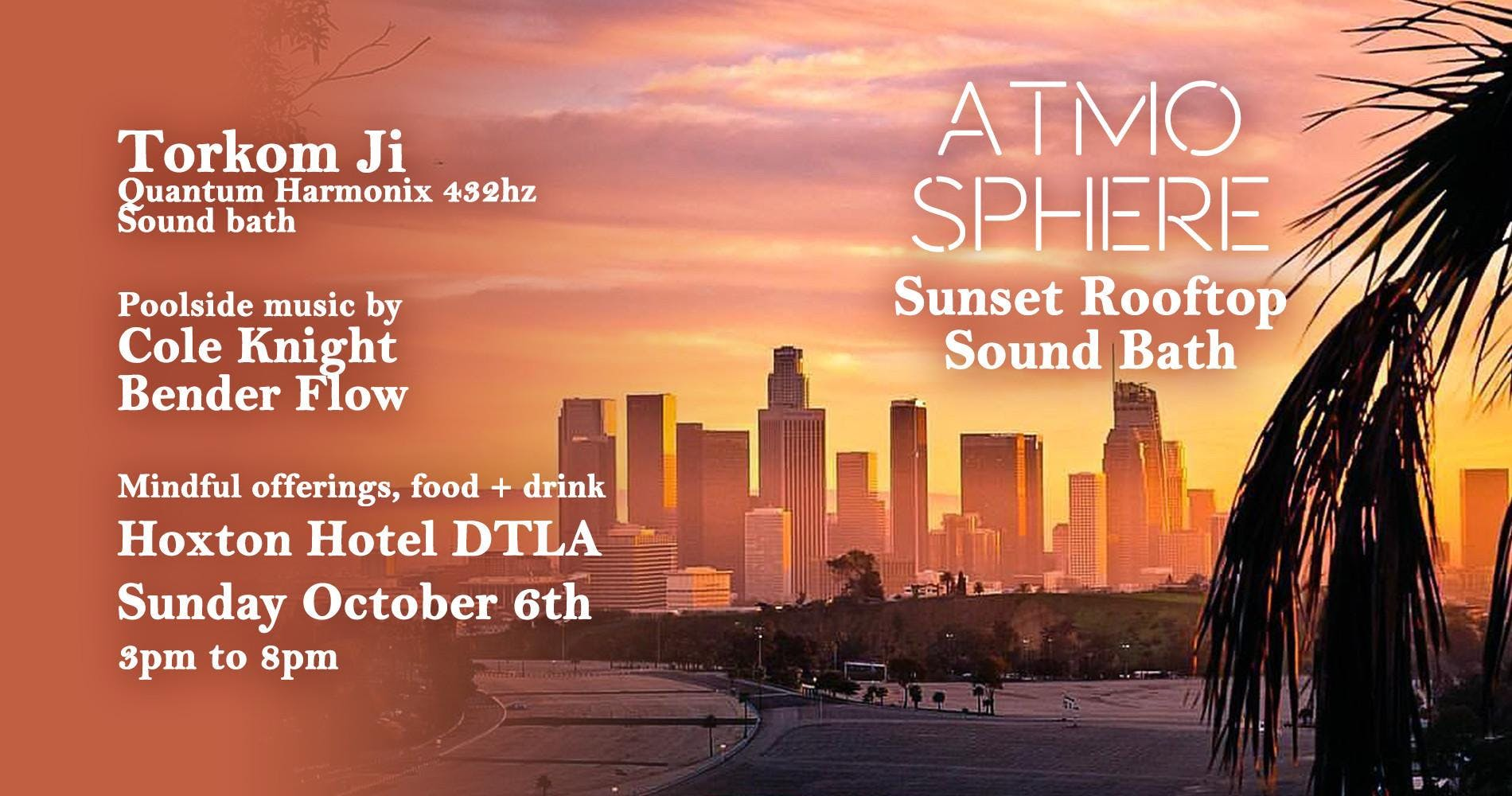Atmosphere // Sunset Rooftop Sound Bath