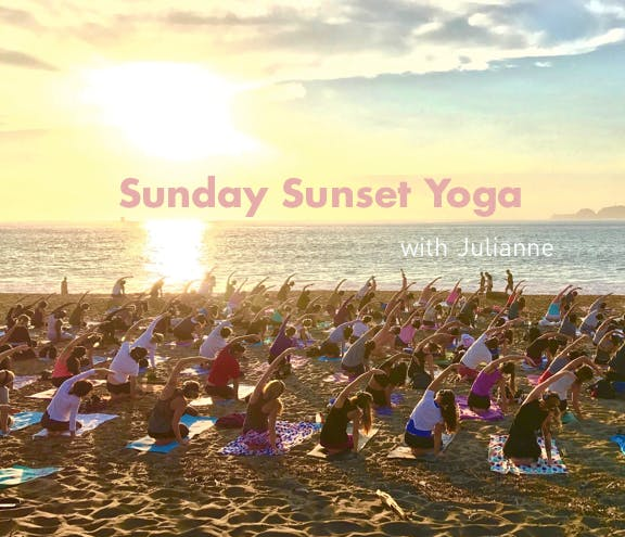Festival of Lights Sunset Yoga with Julianne!
