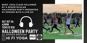 SOUNDOFF Yoga Flow & Sonderween, a Spooktacular Halloween Party