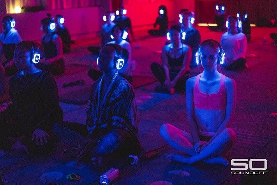 Silent Disco Yoga Party