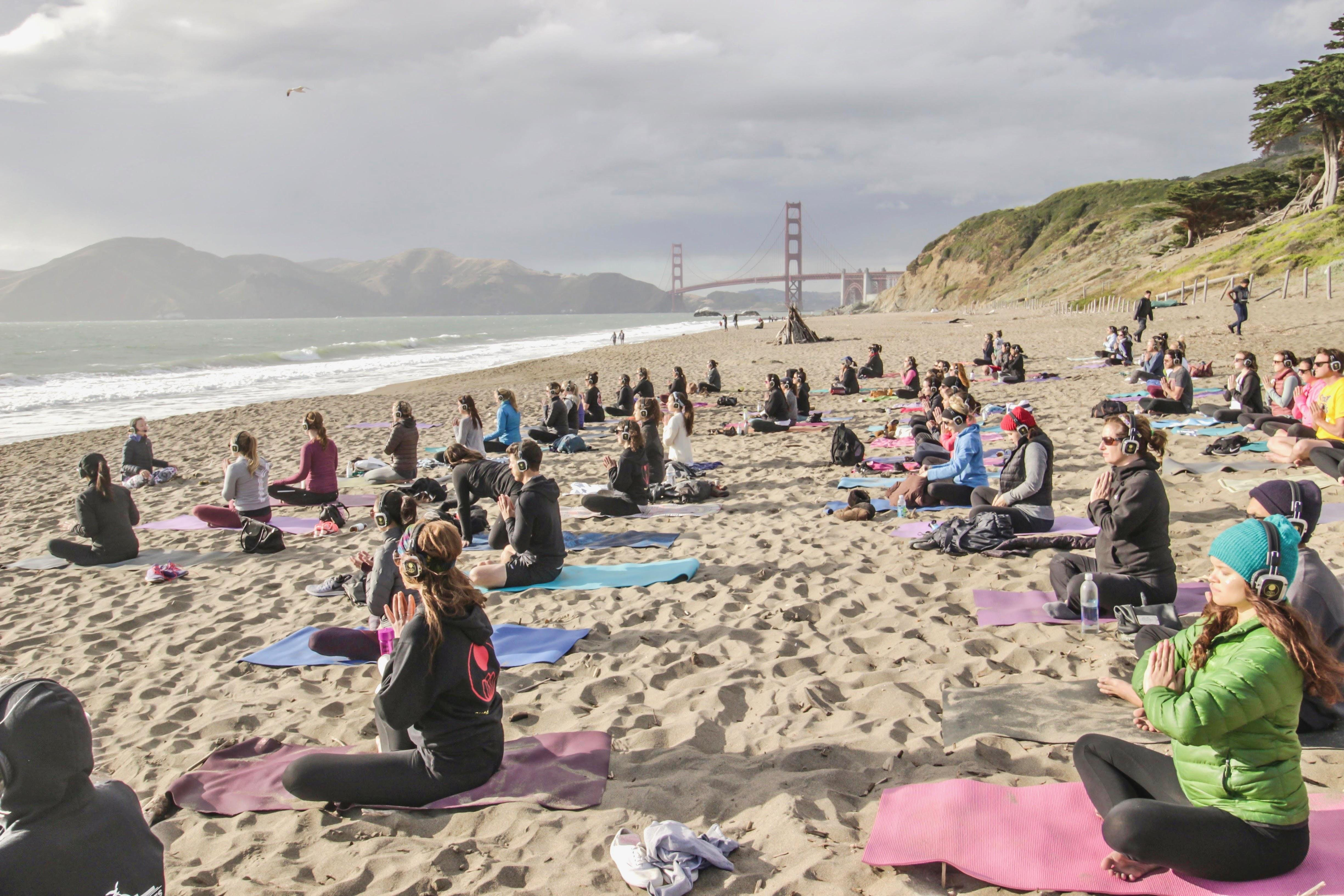 Saturday Beach Yoga with Sarah!