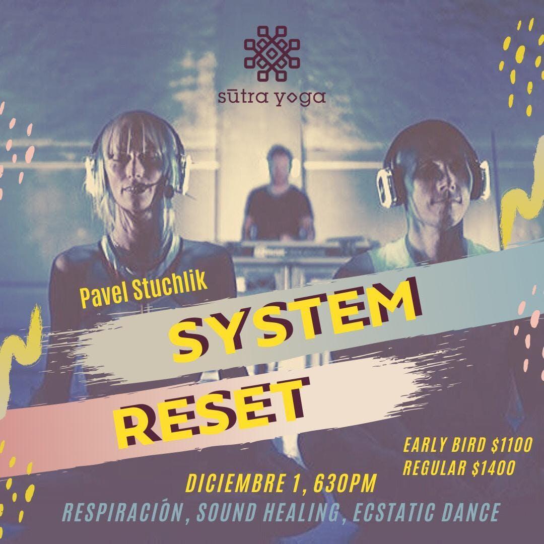 Silent Disco System Reset + Wim Hof Method @Ectagono CDMX