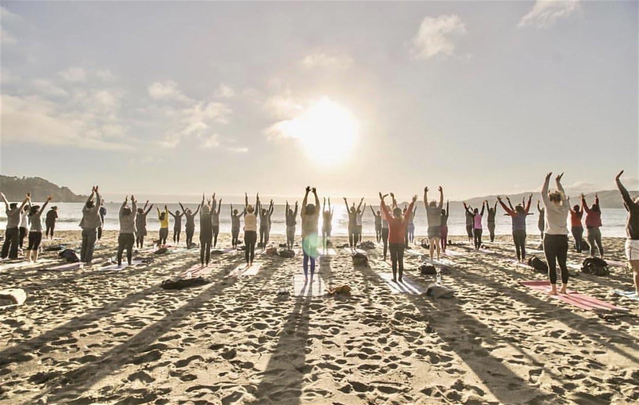 Friday Sunset Yoga with Emily!