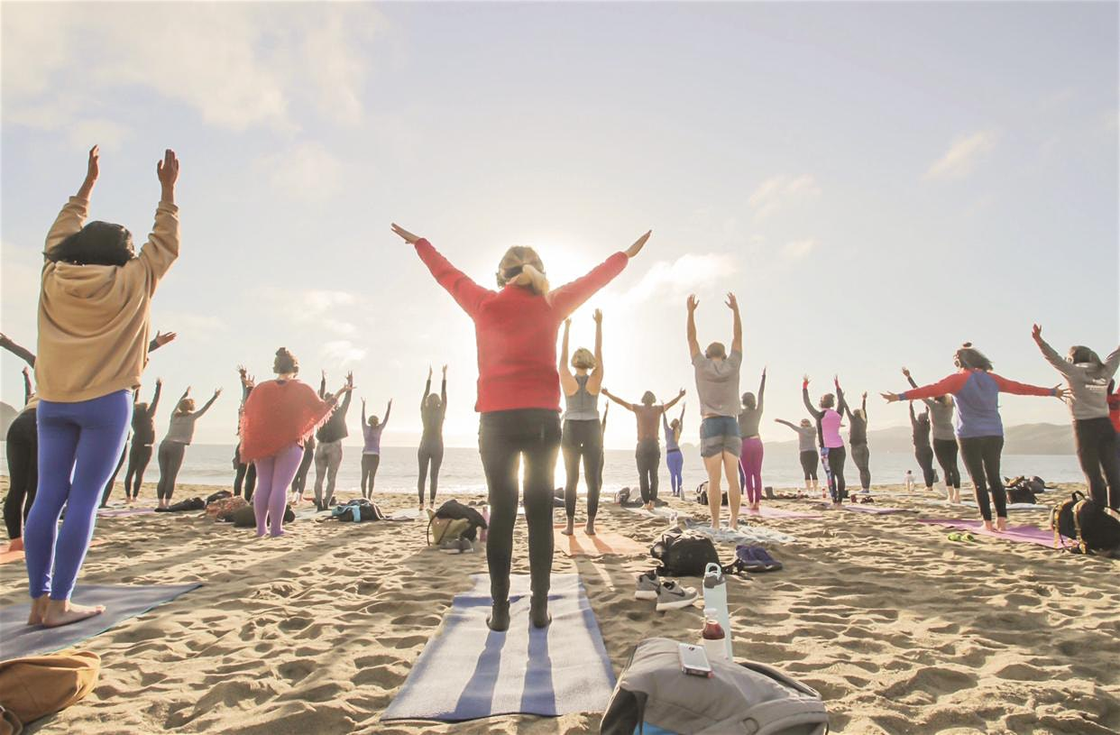 Sunset Beach Yoga with Julianne