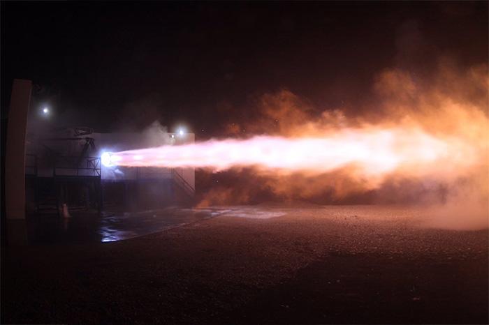 motor marte spacex