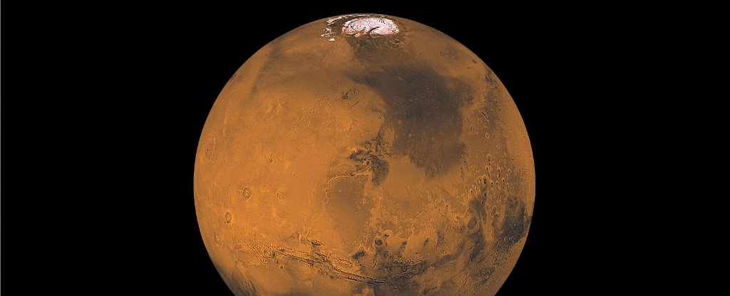 Marte polul nord