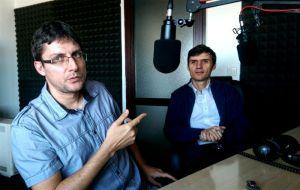 Ovidiu Tesileanu si Dan Filipescu