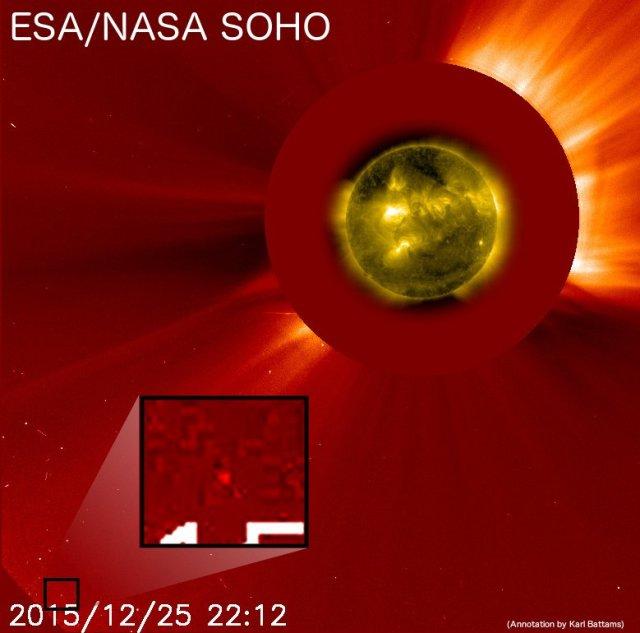 cometa craciun