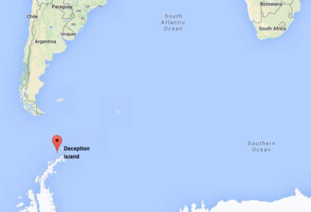 deception island harta mare