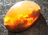 Apus de foc in opal