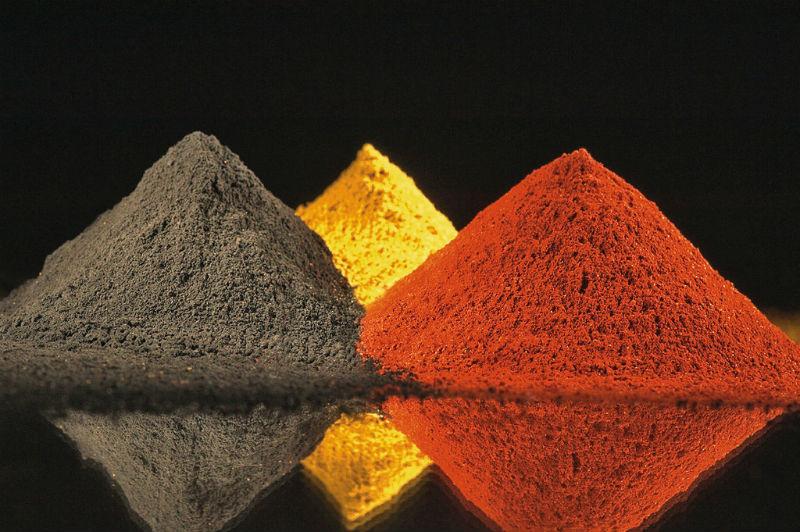 pigment arta istorie chimie