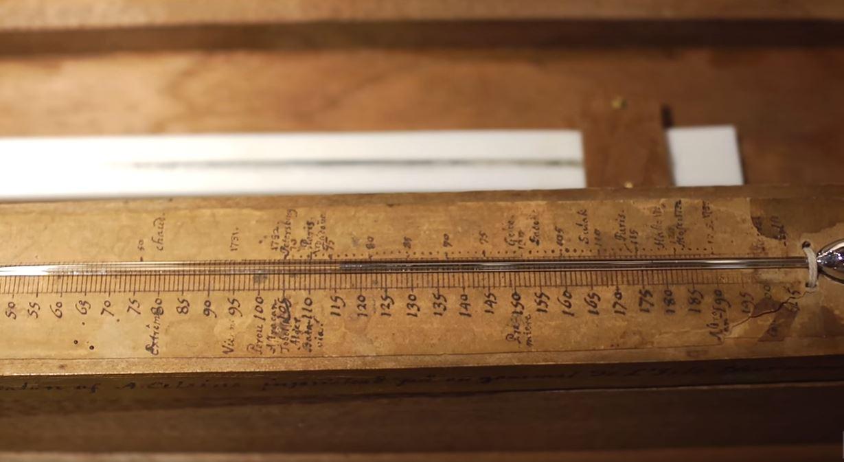 primul termometru celsius