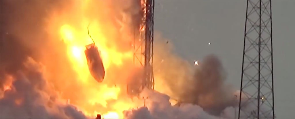 spacex explozie