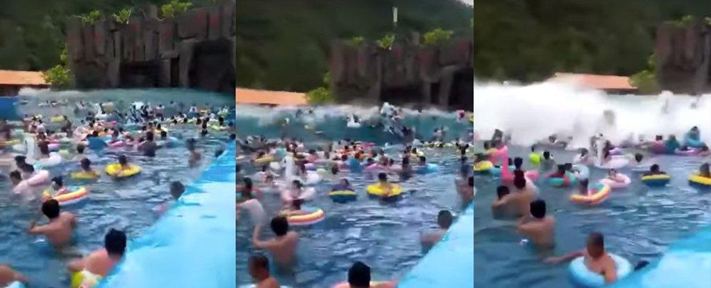 tsunami piscina