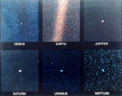 "Fotografii ""portret"" ale planetelor din Sistemul Solar."