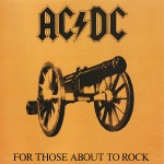 For Those About To Rock We Salute You LP sleeve